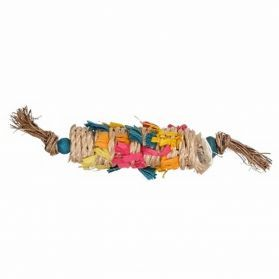 Bamboo Wrap Parrot Foot Toy