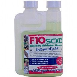 F10XD Bird Safe Cleaner And Disinfectant Concentrate 100ml
