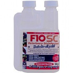 F10SC Bird Safe Disinfectant & Nebulising Solution 100ml Concentrate