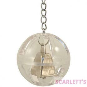 Buffet Ball With Bell Large Bird Foraging Toy