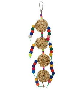 Gold Coins Small Bird Toy