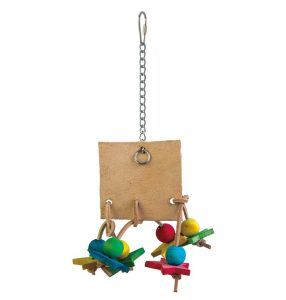 Leather Legs Leather Bird Toy