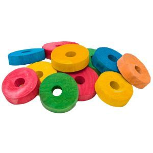 Rainbow Discs Pack 12 - Wooden Toy Making Part