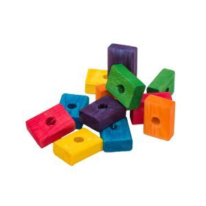 Rainbow Cubes Pack 12 - Wooden Toy Making Part