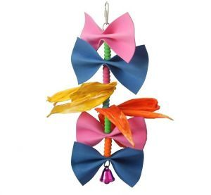 Beautiful Bows Small Bird Toy