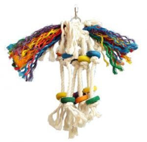 Toopet Small Rope Bird Toy