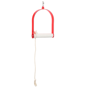 Acrylic Swing With Rope Large