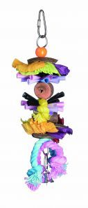 Party Time - Coconut & Rope Bird Toy