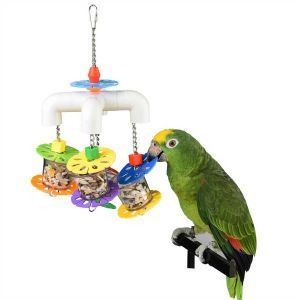 Foraging Parrot Party Bird Toy