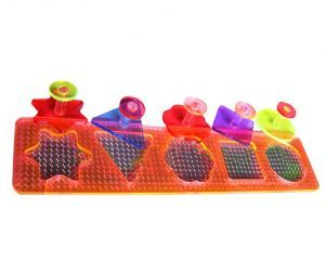Acrylic Puzzle Shape Sorter- Small Parrot