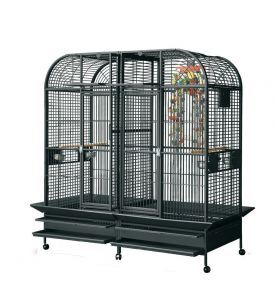 Rainforest Castello II Large Parrot Cage With Divider