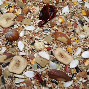 Marriages Gourmet Low Sunflower African Grey Seed Mix With Nuts 10kg
