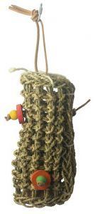 Natural Foraging Tube Bird Toy