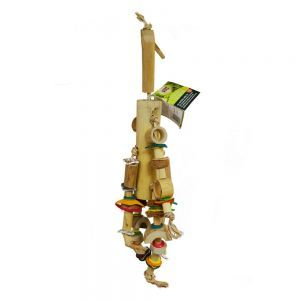 Coco Shell N Cluster Large Natural Parrot Toy