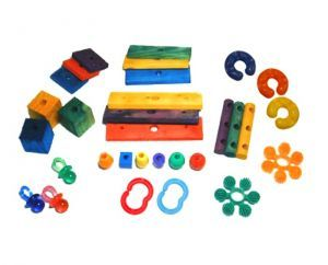 30 Piece Toy Making Kits - Large Parrot