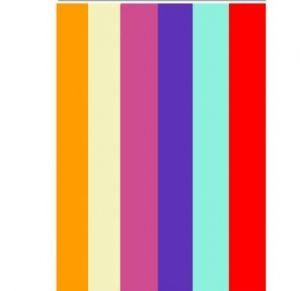 Pack of 12 Coloured Tissue Paper